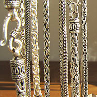 925 Silver Chains - Indian Jewelry in Top Quality