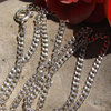 Delicate Indian Necklace Curb Chain 2mm - 925 Silver