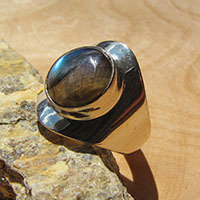 Labradorite Rings with Silver - Indian Jewelry