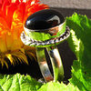 Noble Onyx Ring adorned - Indian 925 Silver Jewelry