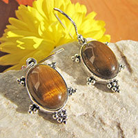 Indian Earrings • Gemstone Variety • 925 Silver