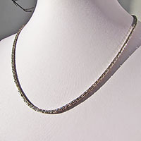 Delicate Indian King's Chain Ø 2.3mm Necklace in 925 Silver