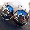 Earrings Ethnic Style ornated - Indian 925 Silver Jewelry