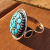 Indian Ethnic Rings •  Silver • Turquoise | Coral | Lapis