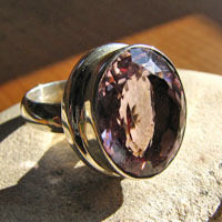 Splendid Amethyst Ring - Indian 925 Sterling Silver Jewelry