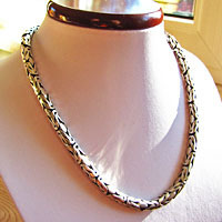 Indian king chain Ø 6.5 mm - Silver Necklace in ethnic look
