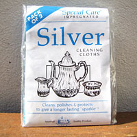 Silver Cleaning Cloths Ashley Mill - Jewelry Cleaning and Care