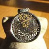 Indian pendant jewelry flower of life 17-5