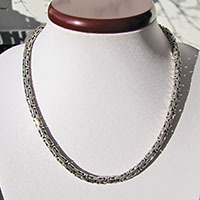Indian King's Chain Ø 5mm - Ethnic Style Necklace 925 Silver