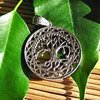Pendant Tree of Life Symbol - Indian Silver Jewelry