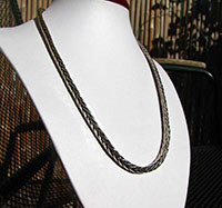 Indian silver necklace made of 925 sterling silver 17-8