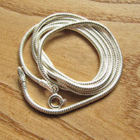 Indian Premium 925 Silver Snake Chain Ø 1.8mm