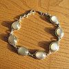 Brown Moonstone - Elegant Bracelet from 925 Silver