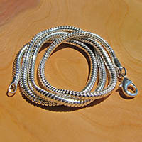 Indian Snake Chain high-gloss Ø 3.5mm 925 Silver