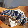 Exclusive Bracelet Sodalite, Blue Topaz - Silver Jewelry