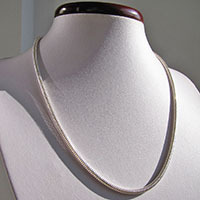 Indian Snake Chain high-gloss Ø 3mm 925 Silver